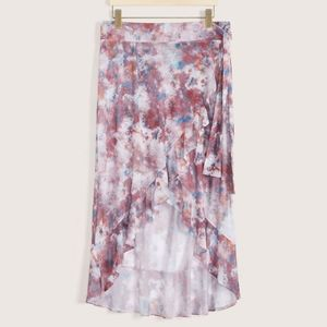 Addition Elle Wrap Pareo Cover Up Swim Skirt NWT